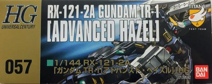 1/144 HGUC 057 RX-121-2A ガンダム TR-1 アドバンスド ヘイズル GUNDAM ADVANCED HAZEL