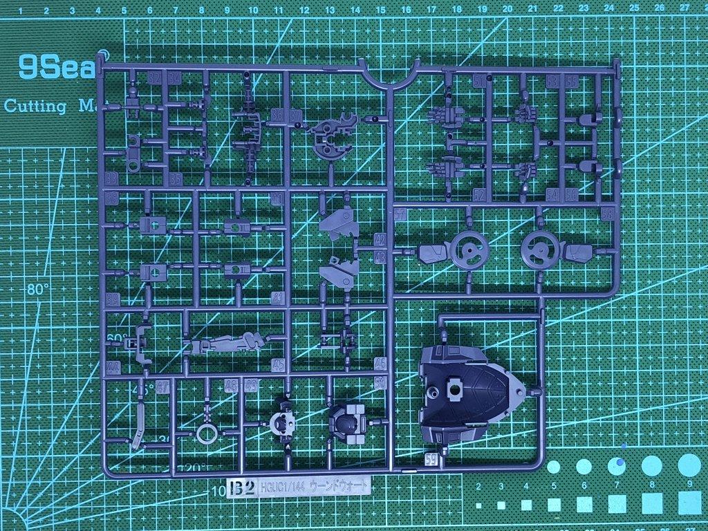 ガンプラ HGUC 1/144 ガンダム 素組み 開封 ランナー レビュー プレミアムバンダイ 限定 プレバン ウーンドウォート RX-124 TR-6 AOZ advance of Z woundwort titans ティターンズ