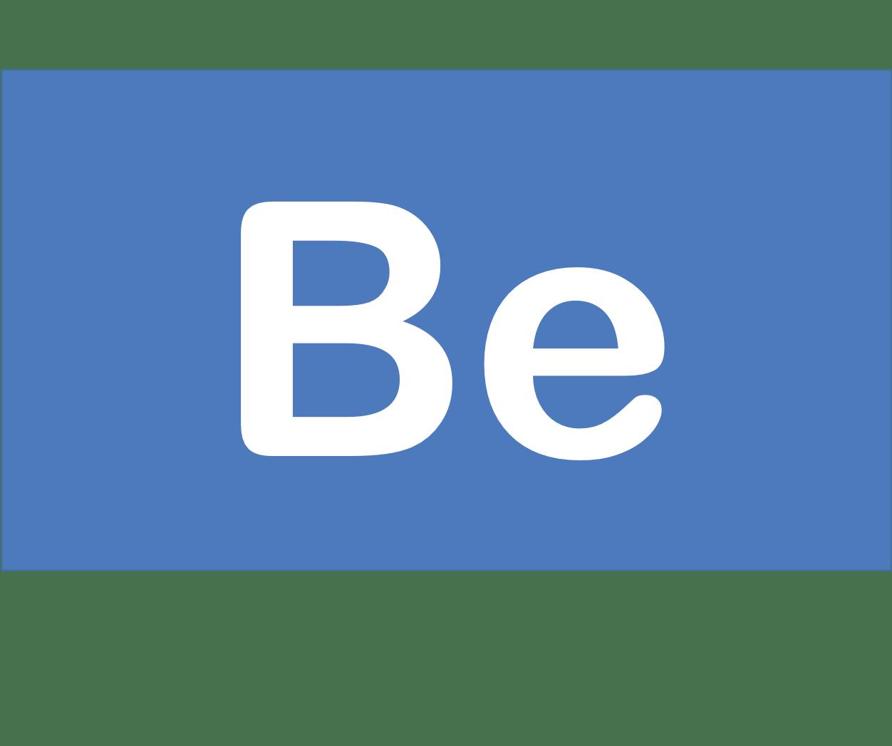 4 Be ベリリウム Beryllium 元素 記号 周期表 化学 原子