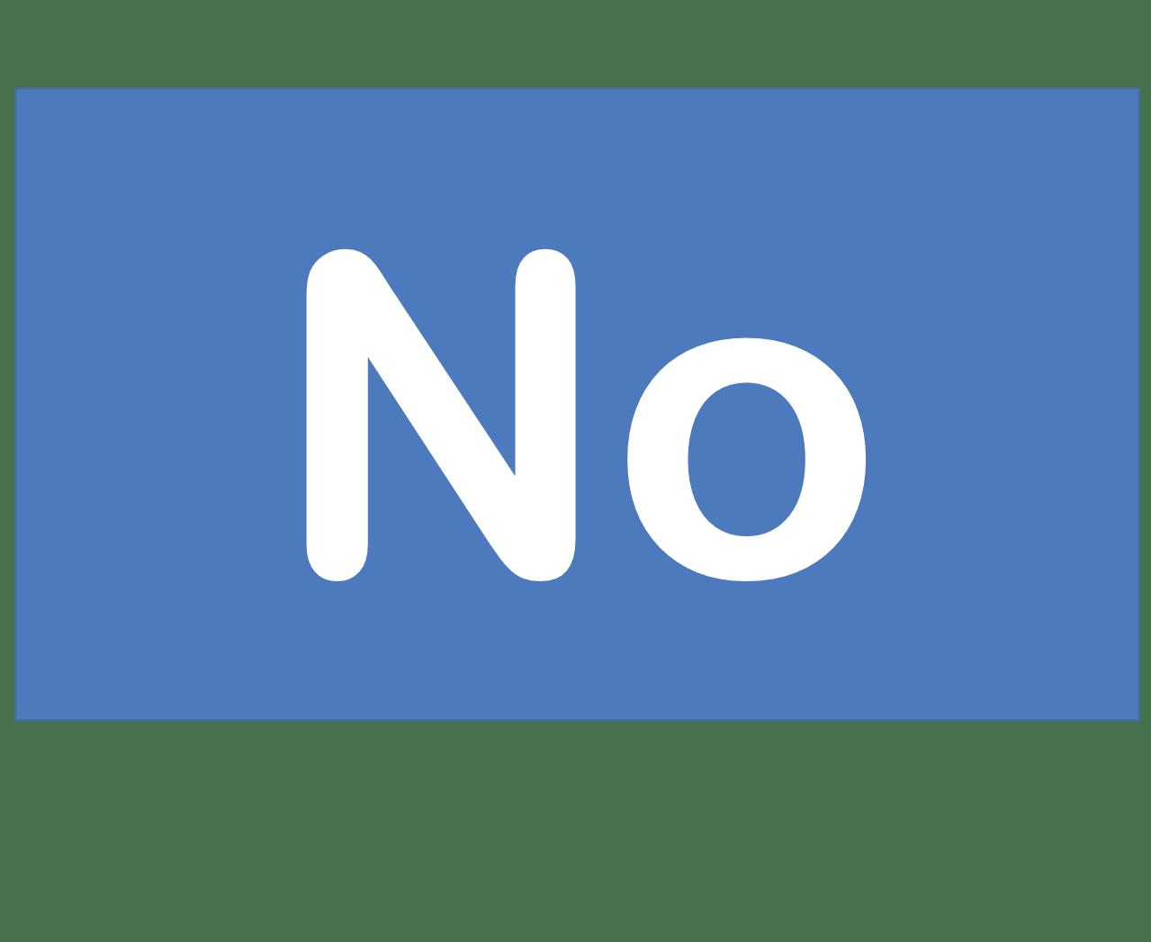 102 No ノーベリウム Nobelium 元素 記号 周期表 化学 原子