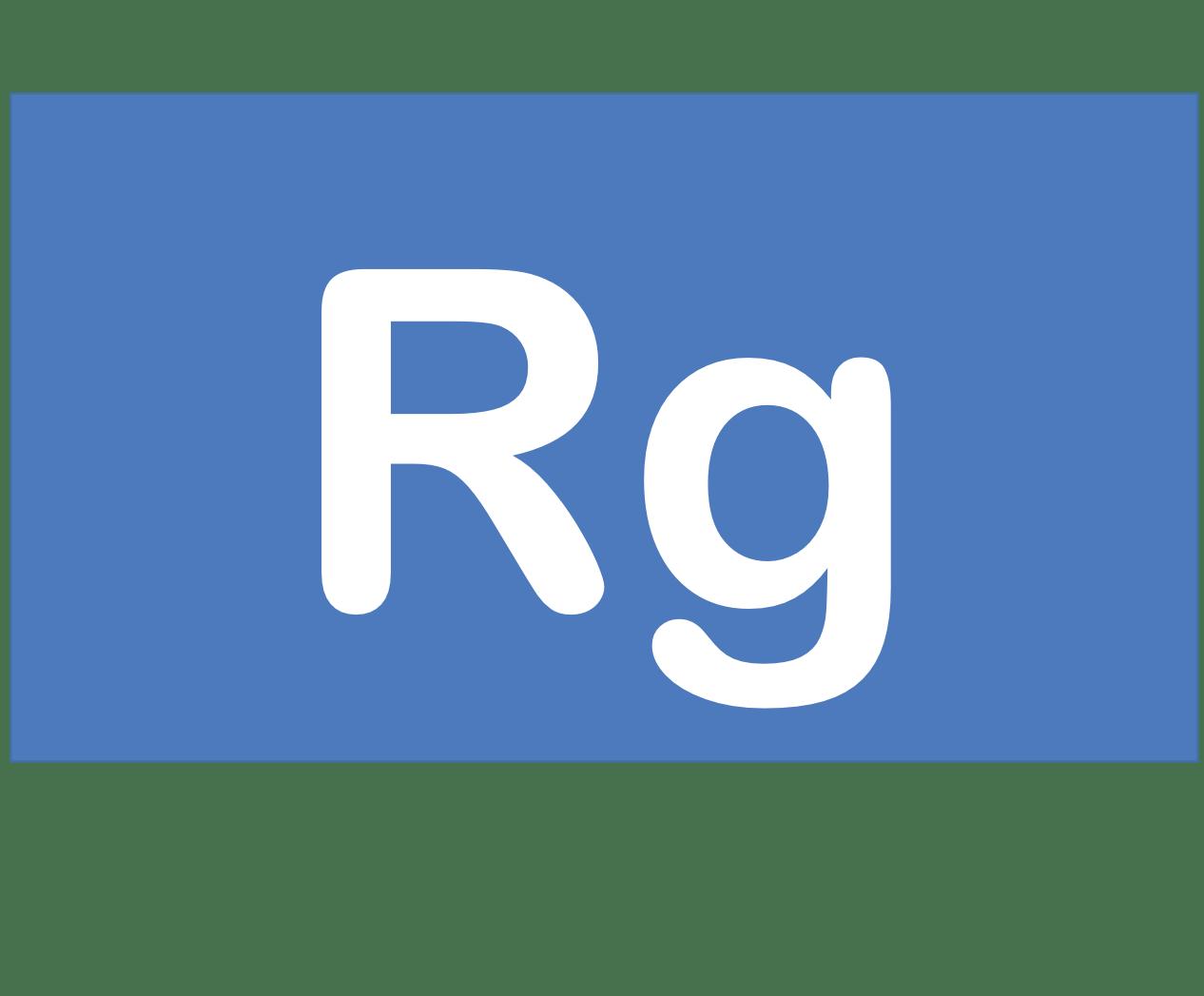 111 Rg レントゲニウム Roentgenium 元素 記号 周期表 化学 原子