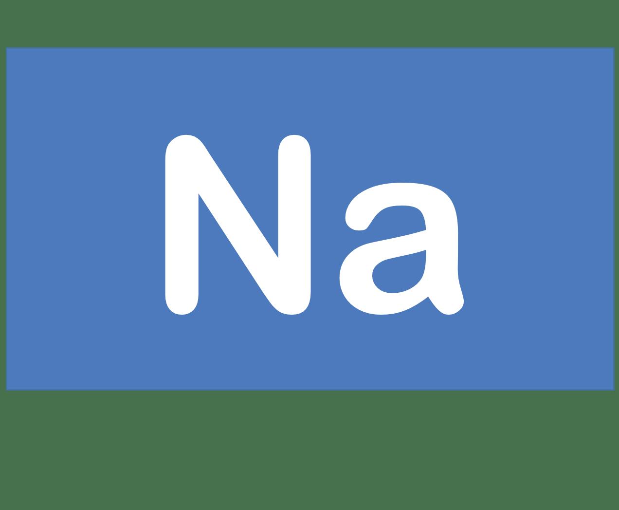 11 Na ナトリウム Sodium 元素 記号 周期表 化学 原子