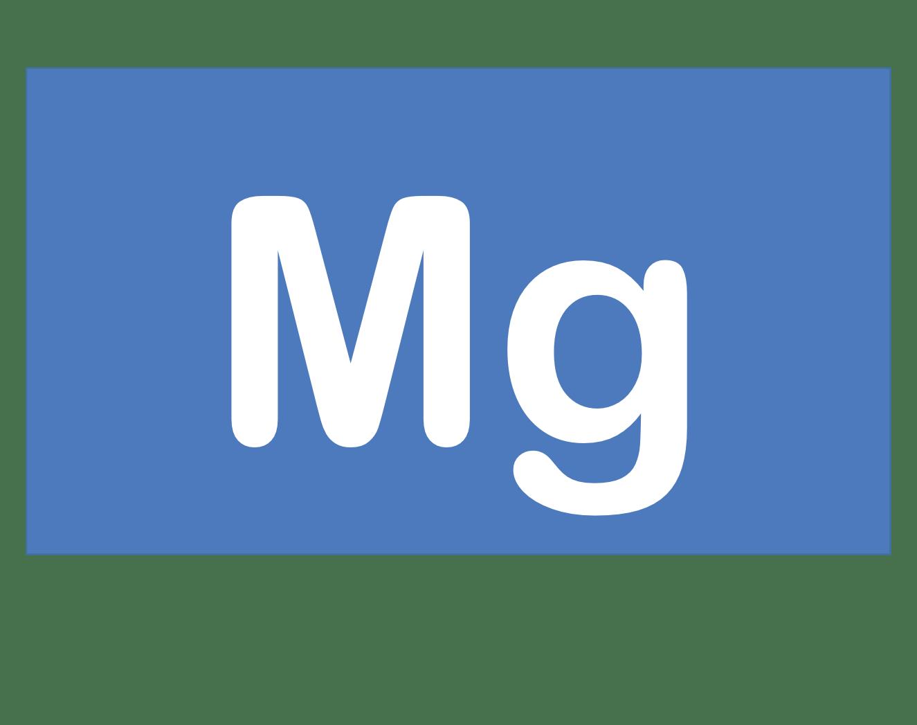 12 Mg マグネシウム Magnesium 元素 記号 周期表 化学 原子