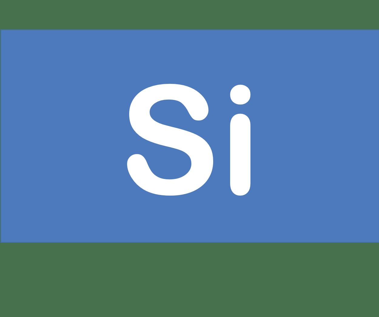 14 Si ケイ素 Silicon 元素 記号 周期表 化学 原子