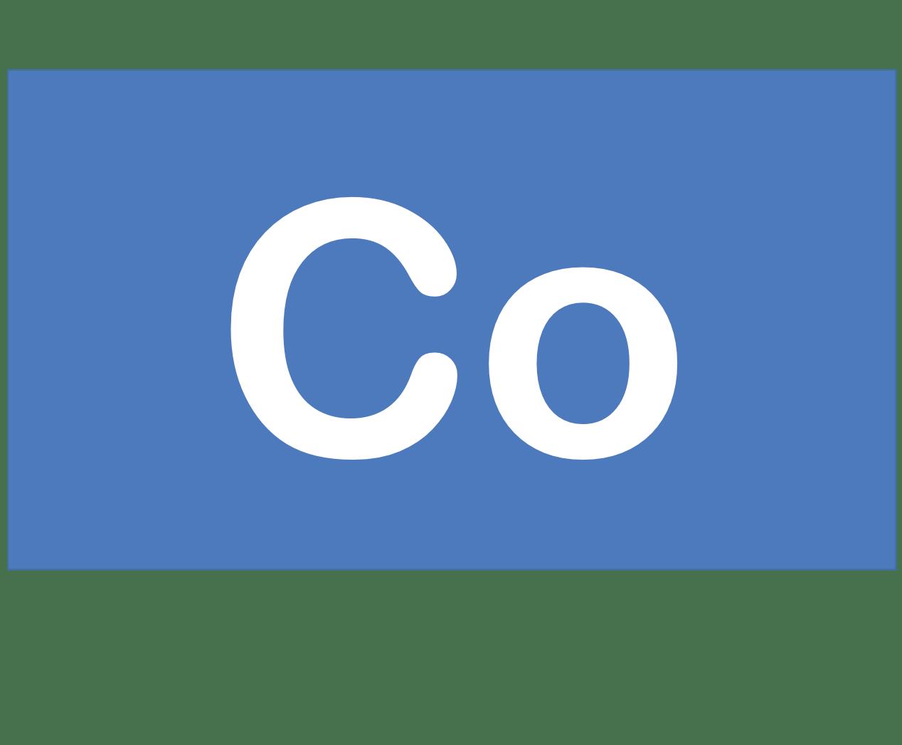 27 Co コバルト Cobalt 元素 記号 周期表 化学 原子