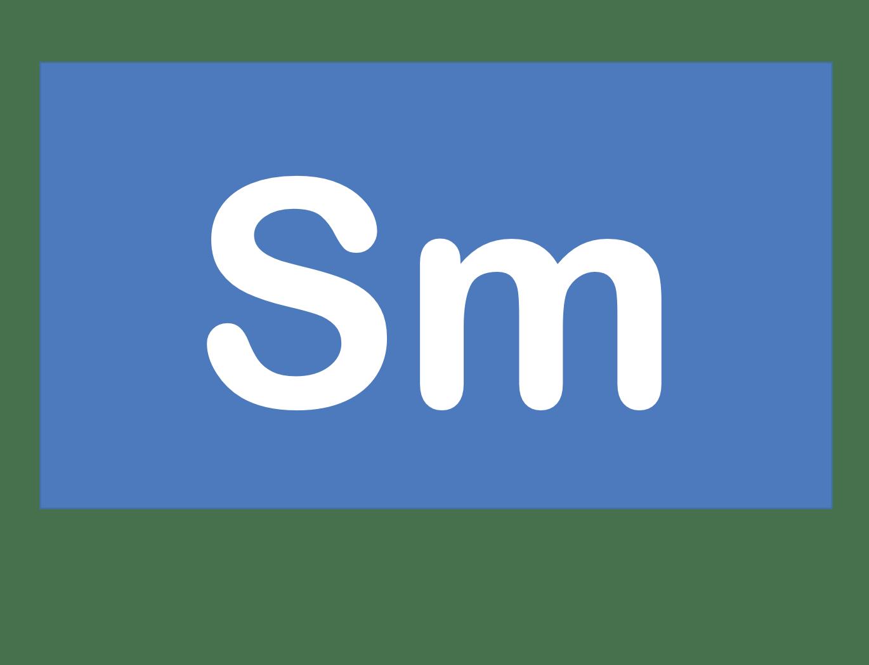 62 Sm サマリウム Samarium 元素 記号 周期表 化学 原子