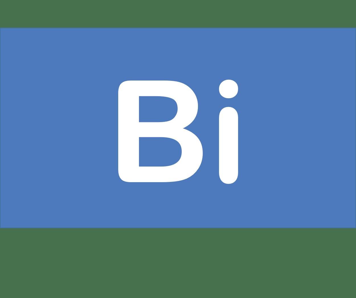 83 Bi ビスマス Bismuth 元素 記号 周期表 化学 原子