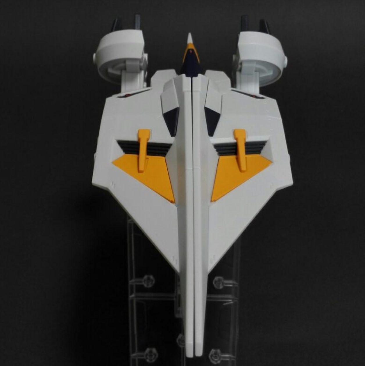 MOBILE SUIT ENSEMBLE EX04弾のダンディライアンIIのMA(モビルアーマー)形態の後方からの画像