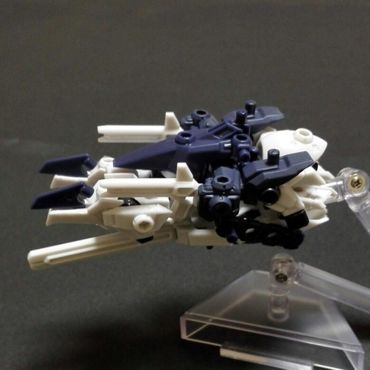 アドバンス・オブ・ゼータからMOBILE SUIT ENSEMBLE 08弾のハイゼンスレイIIのMA(モビルアーマー)形態とフルドドIIの画像