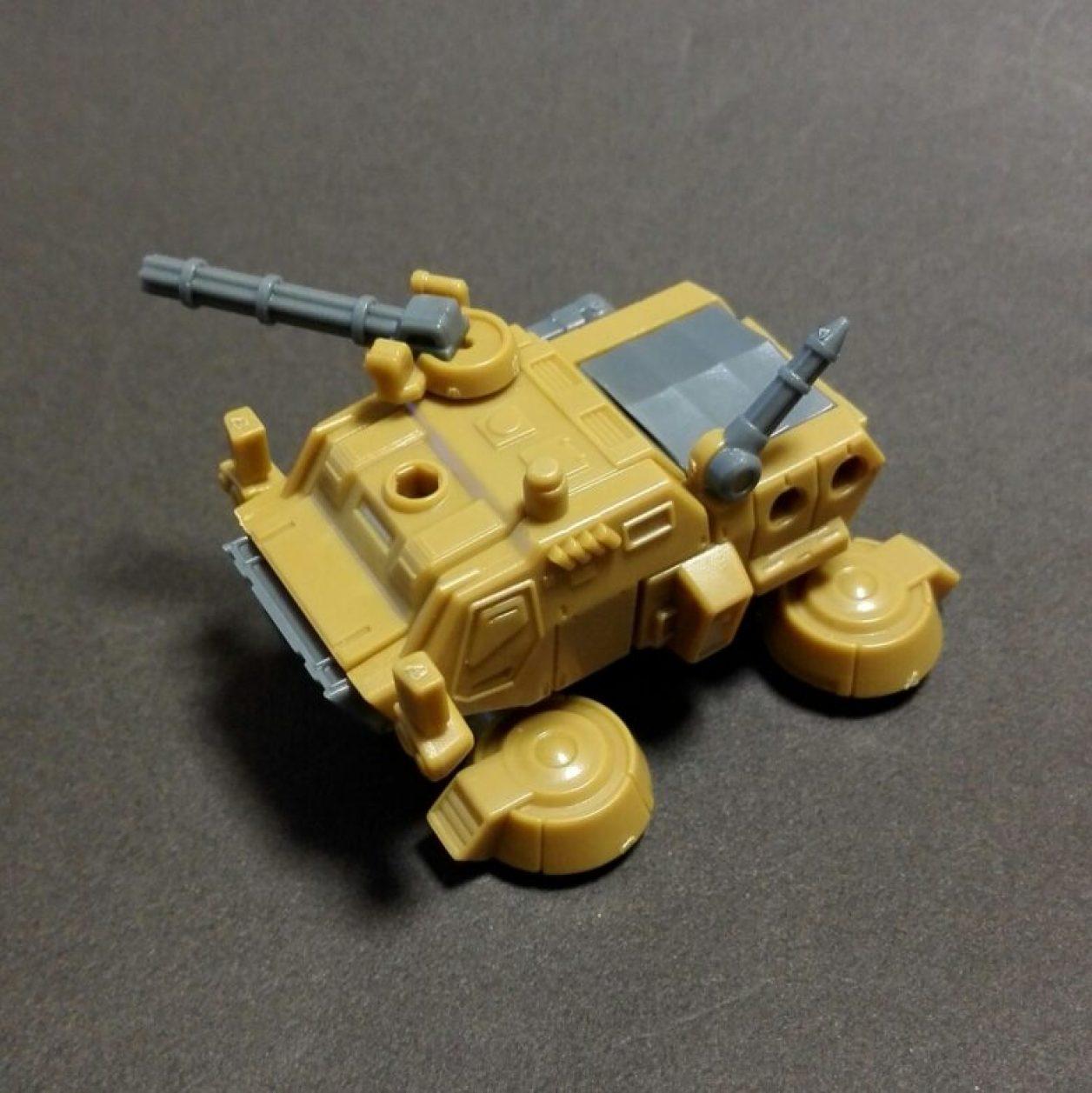 MOBILE SUIT ENSEMBLE(モビルスーツアンサンブル)09弾より機動戦士ガンダムに登場するホバートラックの画像