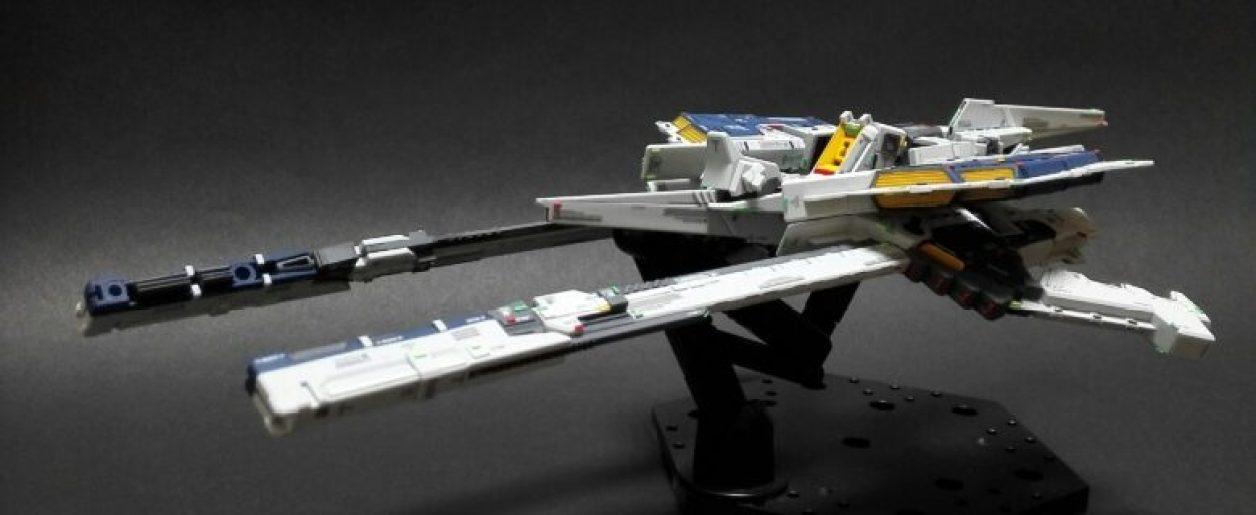 FG Gパーツ[フルドド]を2機合体させたフルドドのMA(モビルアーマー)形態にロング・ブレード・ライフルを格納させた形態の画像