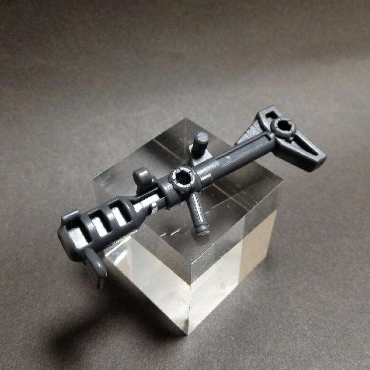 MOBILE SUIT ENSEMBLE(モビルスーツアンサンブル)12弾の高機動型ザクII(黒い三連星仕様)の初期武装のジャイアントバズーカの画像
