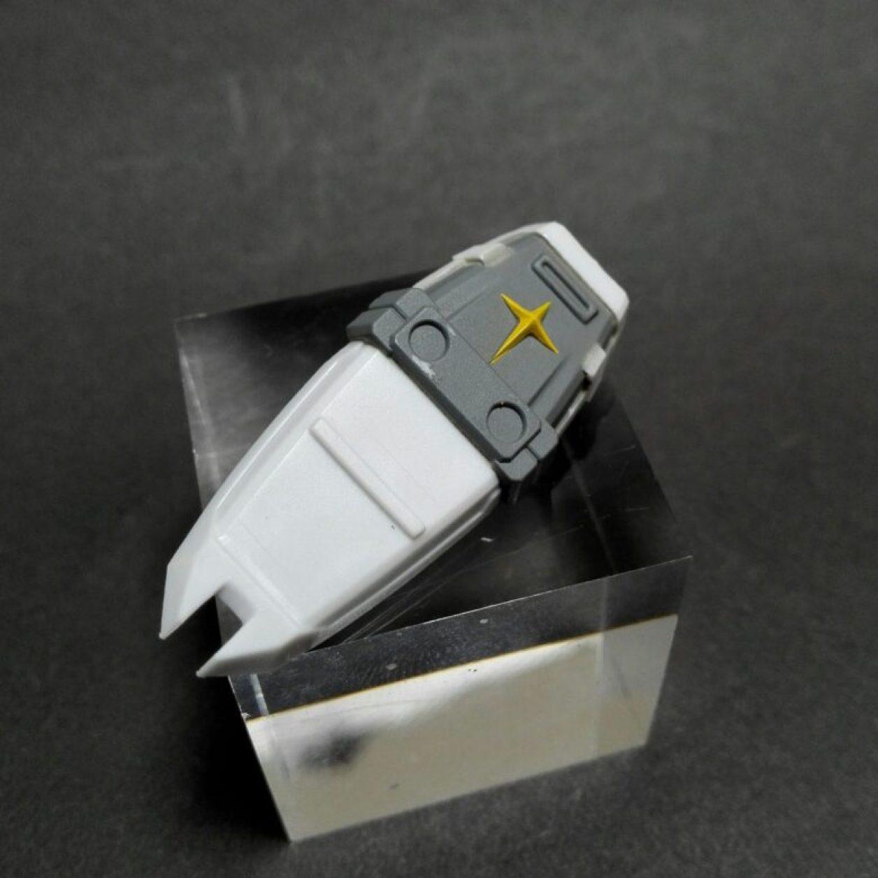 MOBILE SUIT ENSEMBLE 12弾のMS武器セットのfaガンダム用シールドの画像