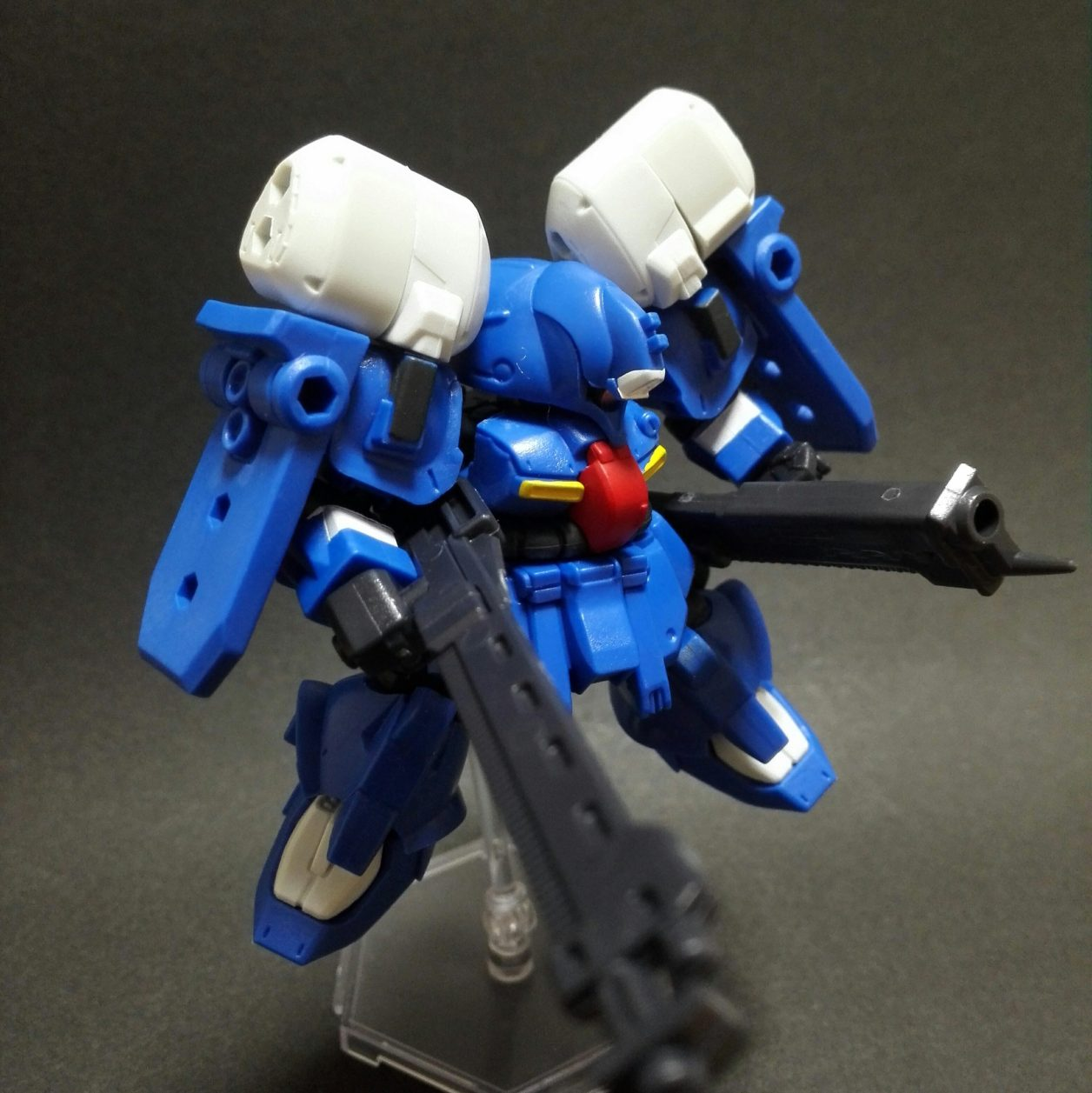 mobile suit ensemble 13弾 ゼクアインとMS武器セットの組み合わせよりゼクアイン第3種兵装のディスプレイ画像