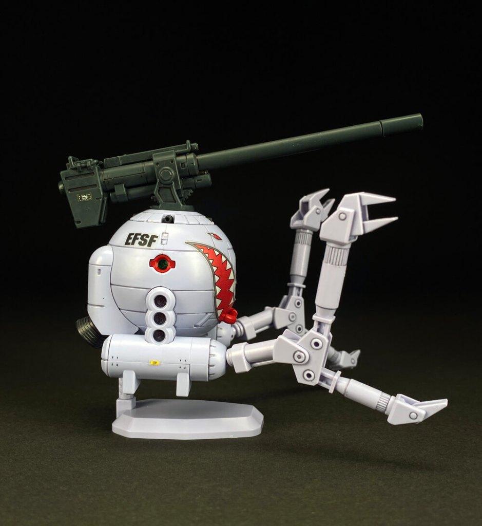 HGUC 1/144 ボールK型&シャークマウス仕様!