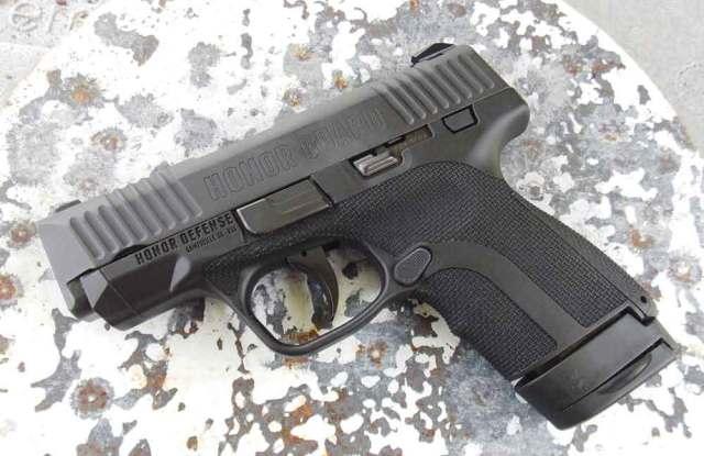 Honor Defense in 9mm.