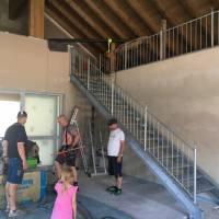 Baufortschritt August 2020