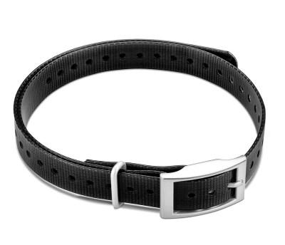 "Garmin 3/4"" Square Buckle Collar Strap Black www.gundogoutfitter.com"