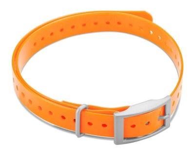 "Garmin 3/4"" Square Buckle Collar Strap - Orange www.gundogoutfitter.com"