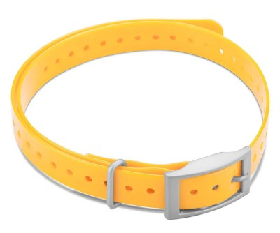 "Garmin 3/4"" Square Buckle Collar Strap - Yellow www.gundogoutfitter.com"