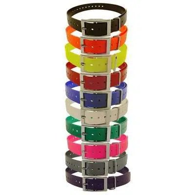"Hi Flex 1"" Replacement Straps for Dog e Collars"