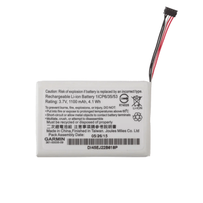 Garmin Lithium-ion Battery Pack (TT™ 15 mini/T 5 mini) 010-11828-40