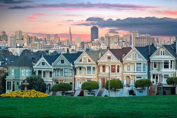 Painted Ladies, San Francisco, ABD.