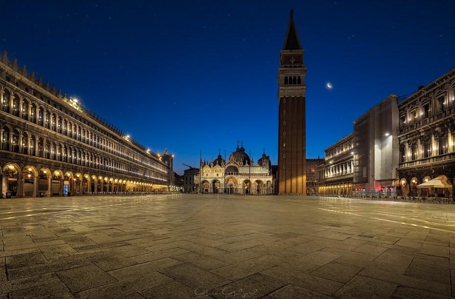 San Marco Meydanı, Venedik, İtalya.