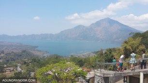 pemandangan danau batur