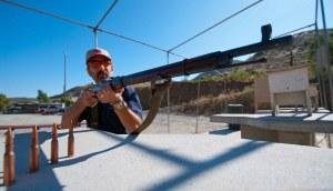 Mosin Nagant 91/30 at the P2K Range in San Diego County