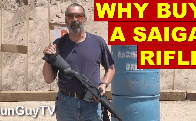 Why buy a Saiga rifle?