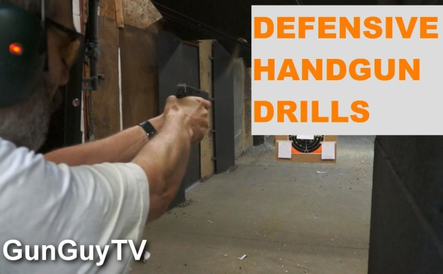 Defensive shooting drills