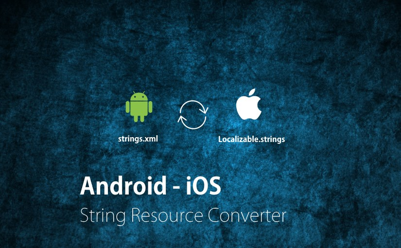 android ios string resource converter