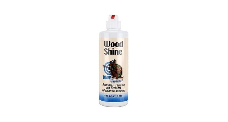 Blue Wonder Wood Shine