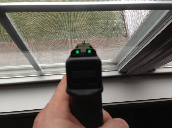 Glock 19 Fiber Optic Sights