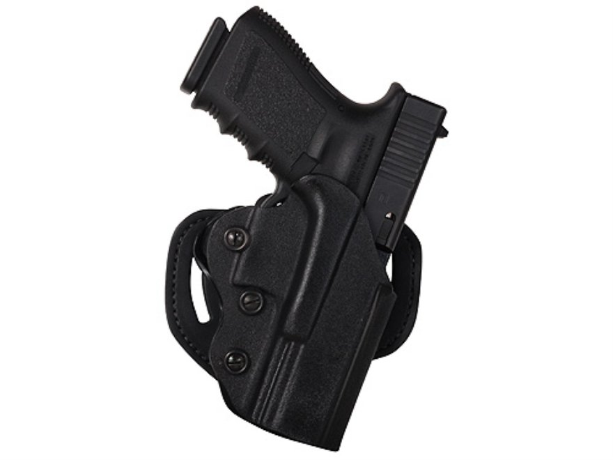 Leather OWB (Out of the waistband holster) for the Glock 19