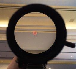 Reticle of EOTech vudu scope