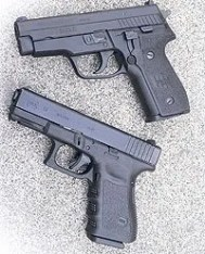 glock vs Sig