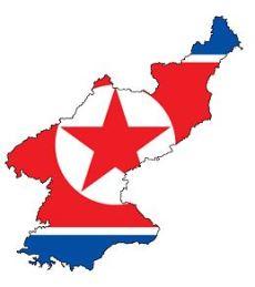 North Korea map