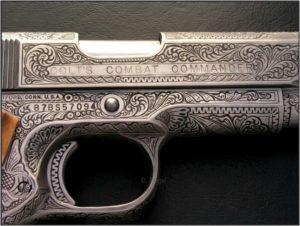 engraved commander