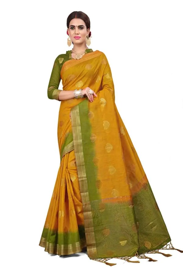 plain sarees without border