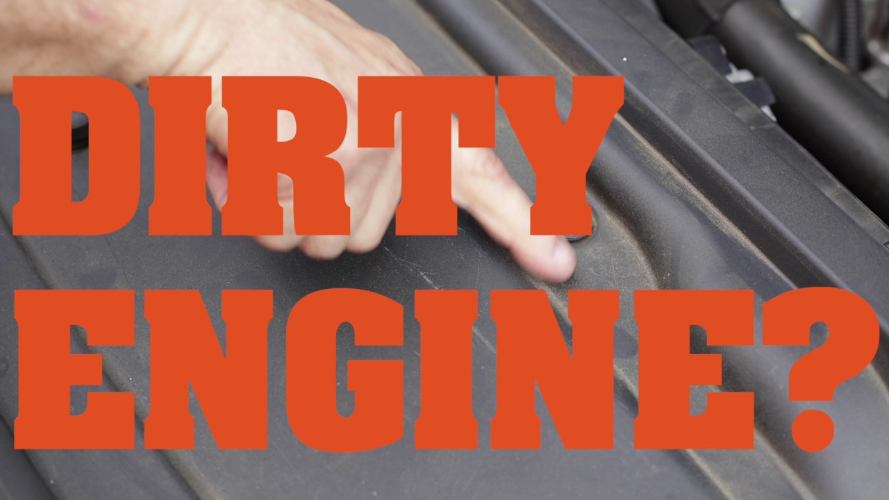 How to clean your engine without water - youtube