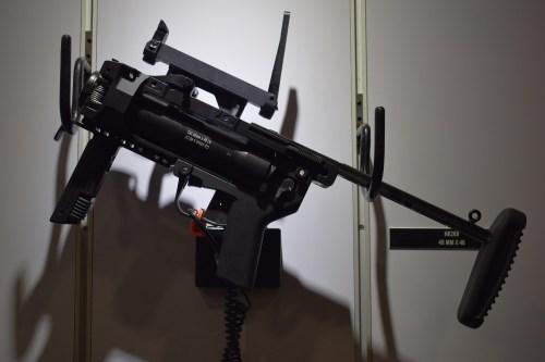 Black, H&K 269 grenade launcher.