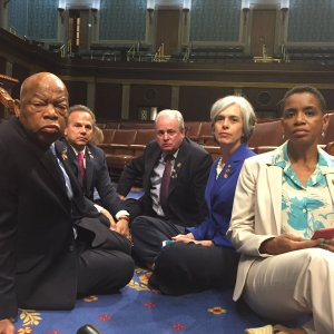 Will we see the in-coming House Democrats protest again like their sit-in protest when they couldn't get gun control passed?