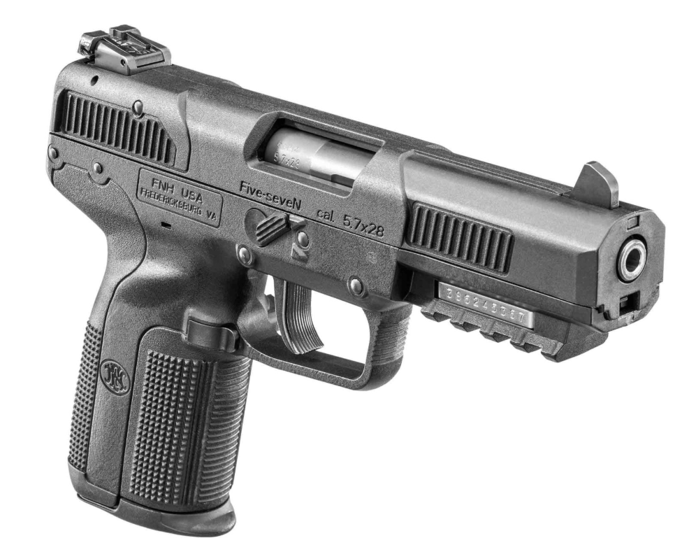 The FN Five-seveN is a really fun gun to shoot with a large muzzle flash, loud report and low recoil.