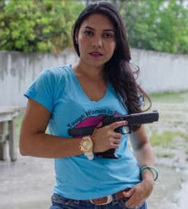 Gabby Franco is a competitive shooter, instructor and the first woman from Venezuela to shoot in the Olympics.