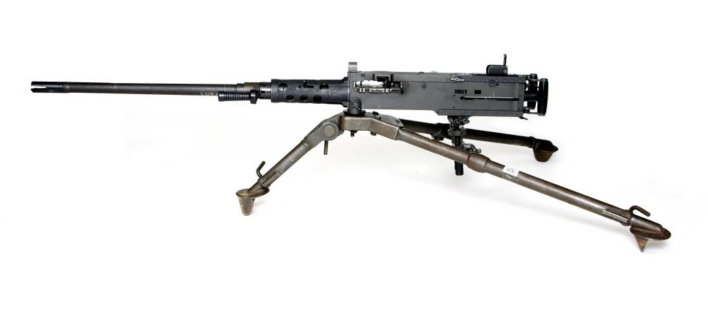 Legendary firearms designer John Browning started developing the .50 BMG caliber M2 Ma Deuce before his death.