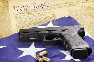 The right to own a firearm is protected by the Second Amendment in the Bill of Rights in the United States Constitution