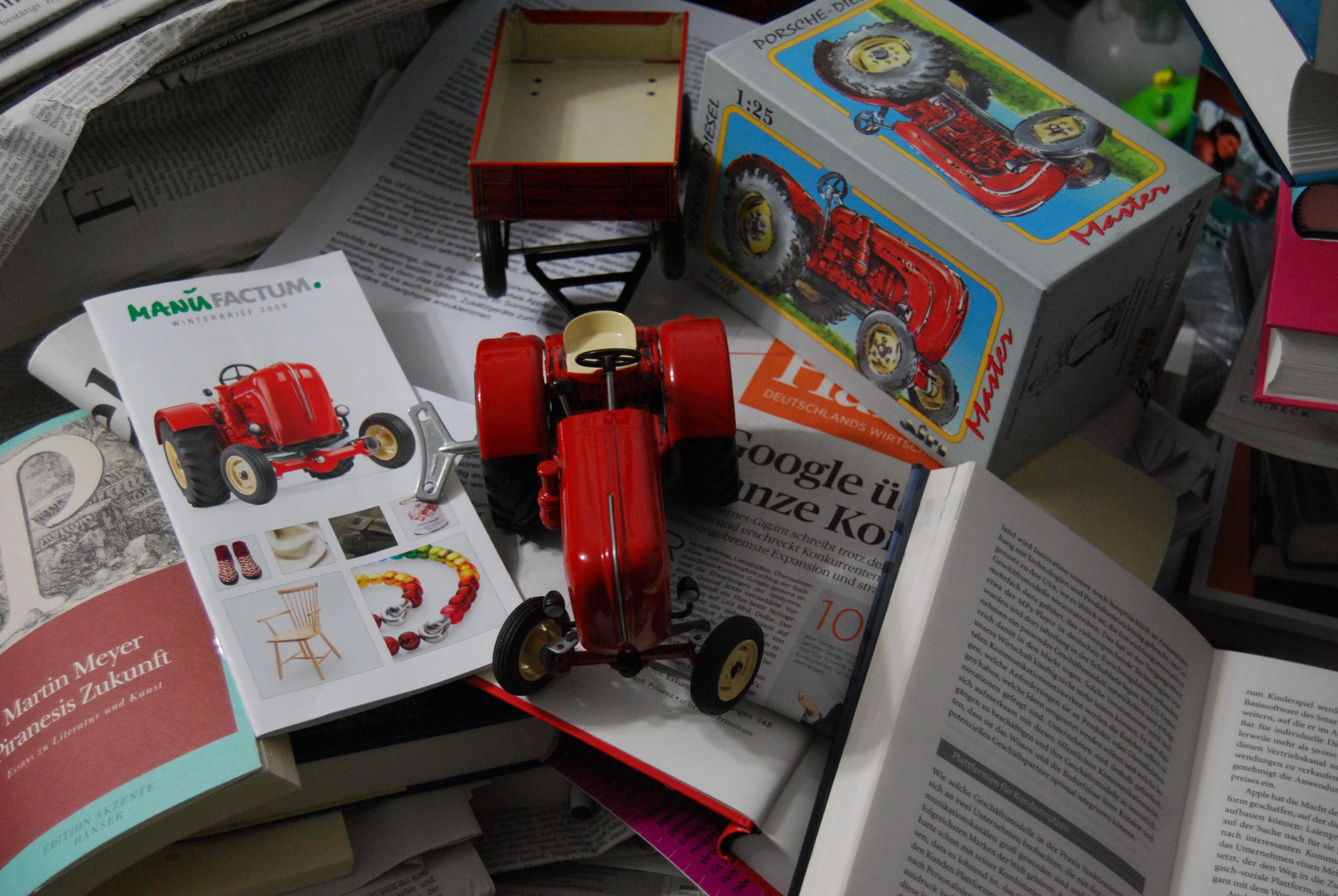 QualitäT Traktor Fendt Ausgezeichnete In Blechspielzeug