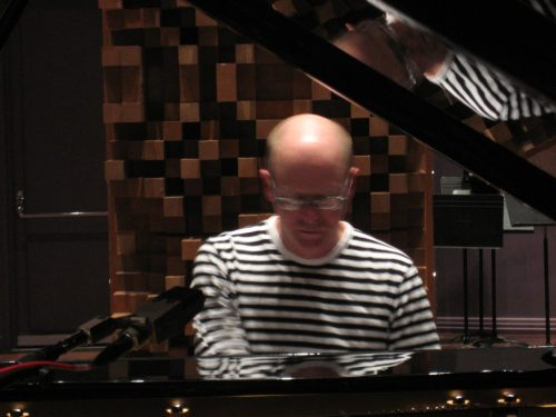 Gunnar playing piano